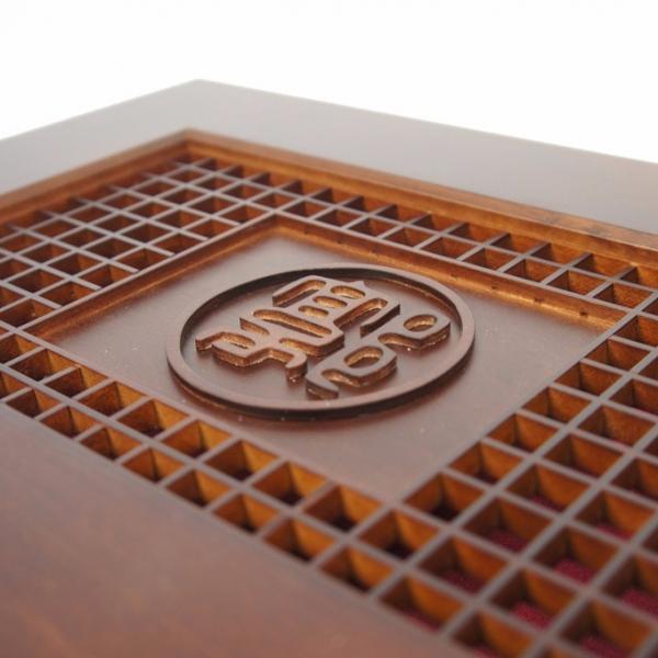 客製木盒(ODM)-交屋磚瓦木盒