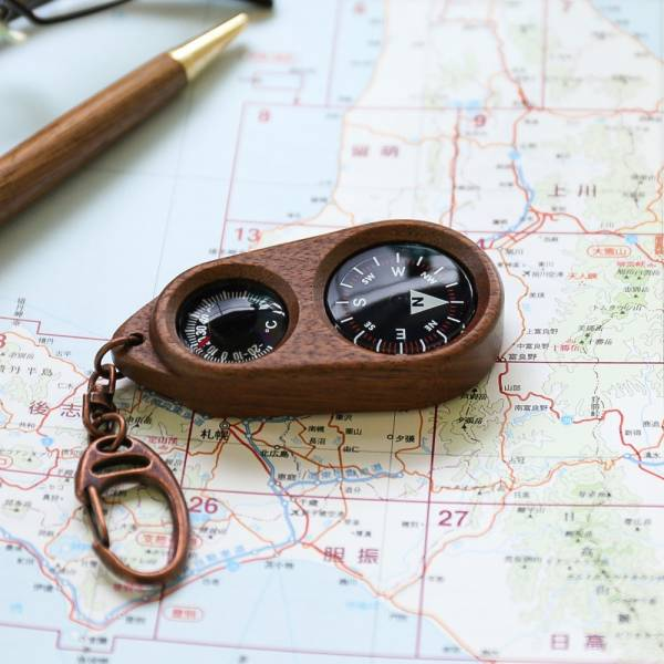 SASAKI工藝-Woody Compass 木製指南針