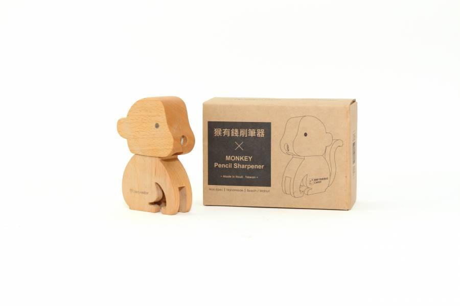 客製化禮品-猴有錢削筆器