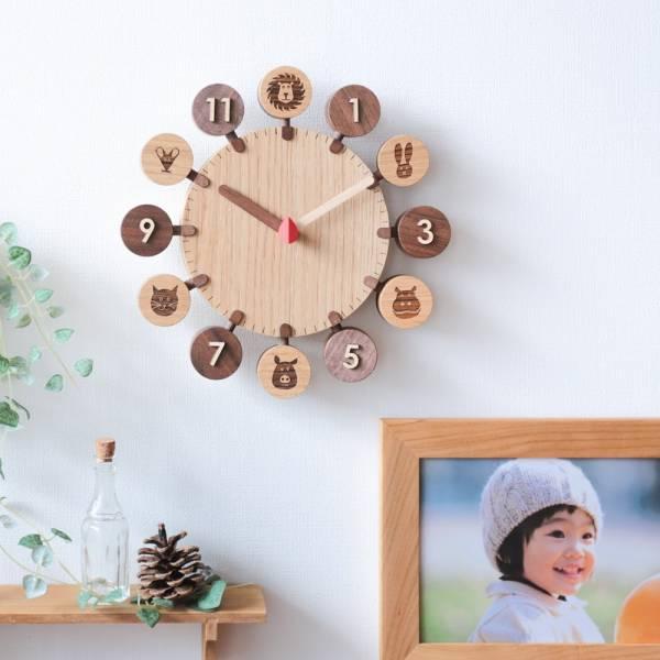 codo木工-太陽公公掛鐘