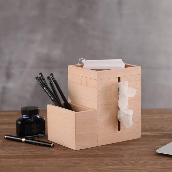 【福利品】面紙盒 面紙盒,木頭,收納