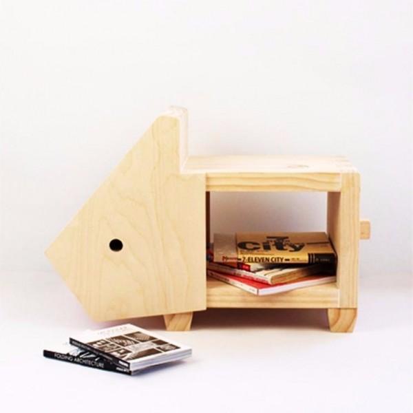 設計款家具-兔子椅凳 矮板凳,兔子,收納