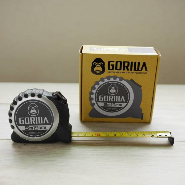 Gorilla-五公尺公英制自動剎車捲尺