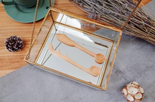 Scroll saw Spoon (Houli Workshop) 手作.線鋸.湯匙,檜木.香氣.食用