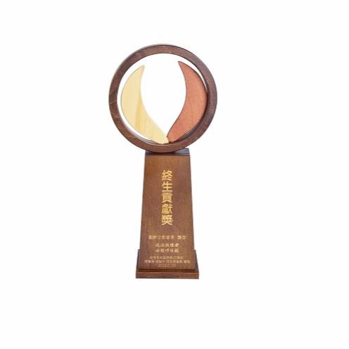 客製化獎座(ODM)-終身成就獎座