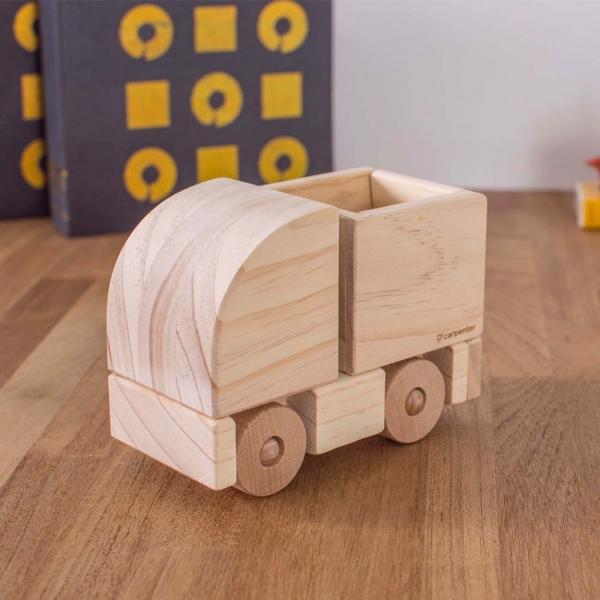 Gravel Truck gravel truck, wood, woodwork, toy, DIY