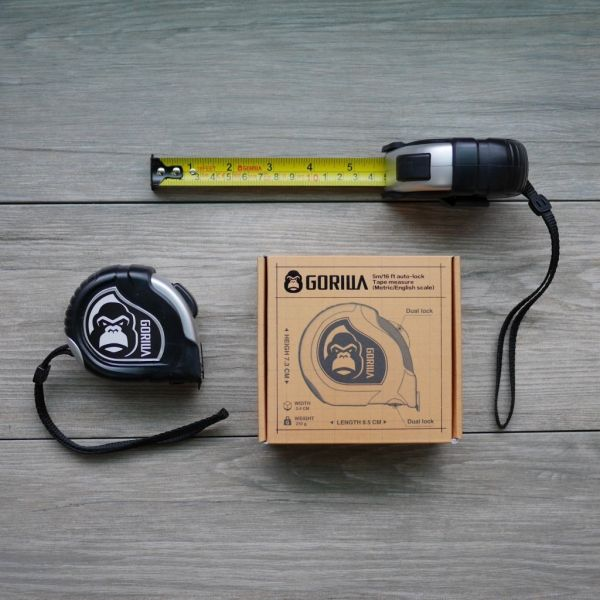 [Gorilla] Autolock Measuring Tape (Asian )