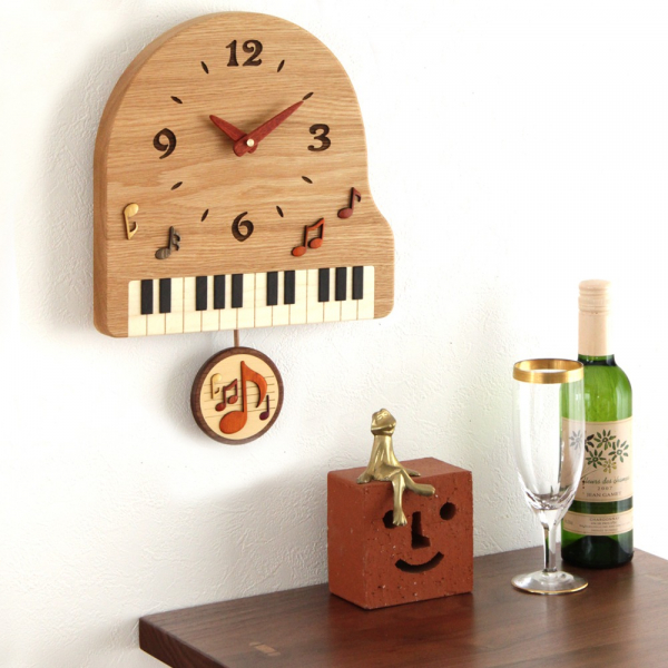 [Pecker] Piano pendulum clock