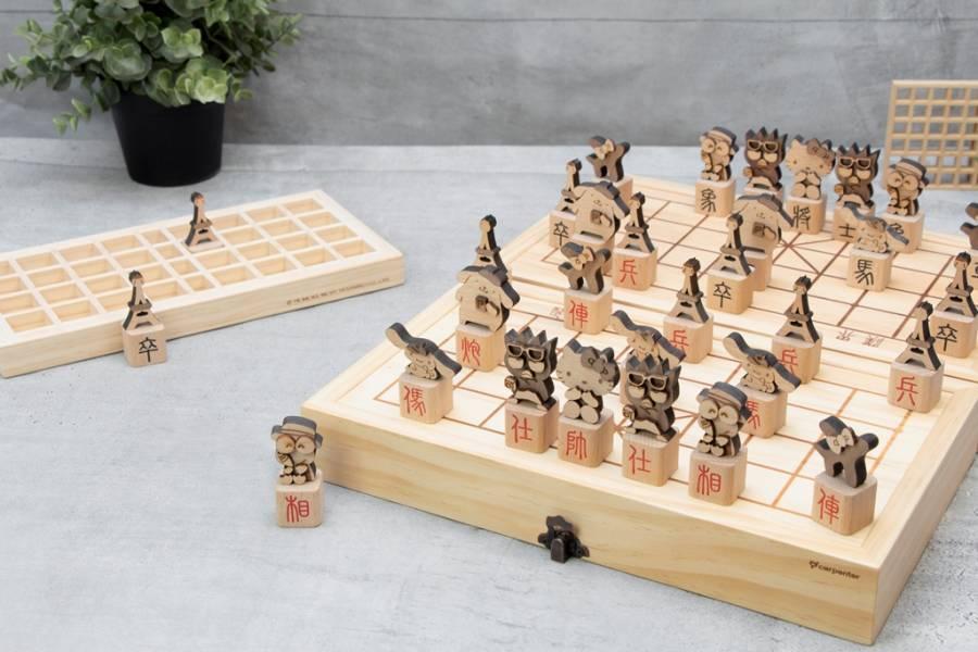 昇恆昌獨家限定-三麗鷗立體象棋