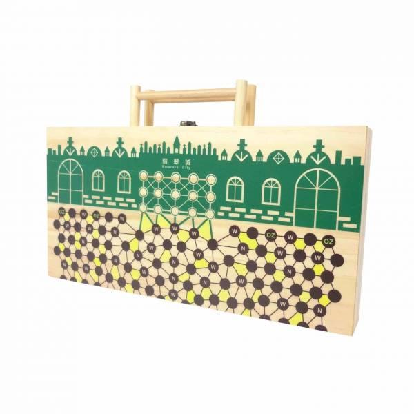 客製木盒-跳棋盒