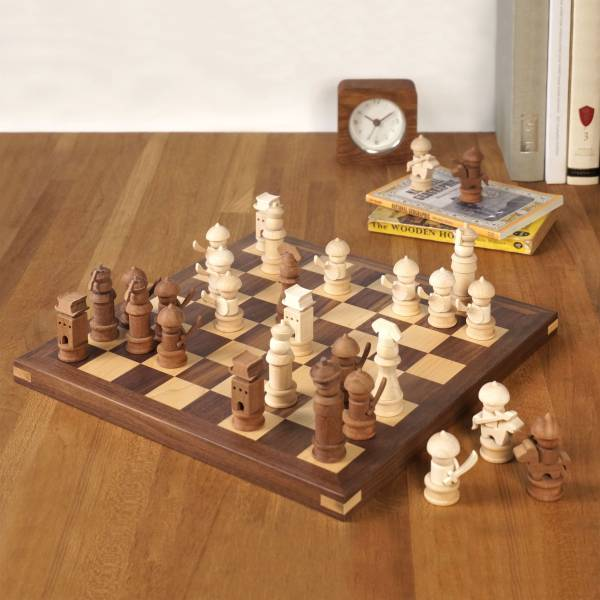 Inlaid Wood Chess board