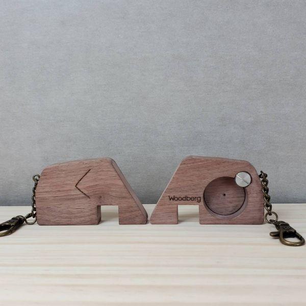 【新上市】逗相(象)挺 - 原木開瓶器/手機架 開瓶器,手機座,大象,二合一