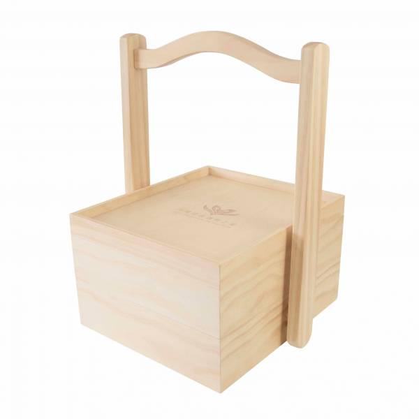客製木盒(OEM)-提把木盒
