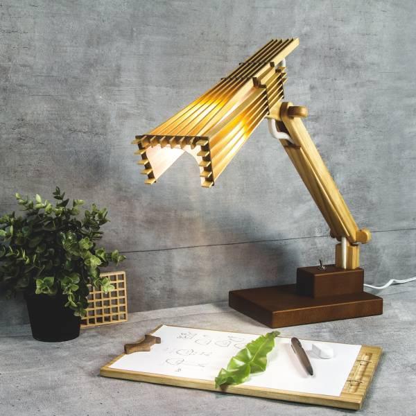 沐光燈 燈飾,夜燈,木頭