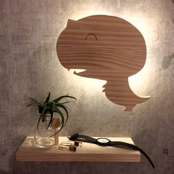 [Lesson]Pat Wall Lamp wooden, woodwork, lamp