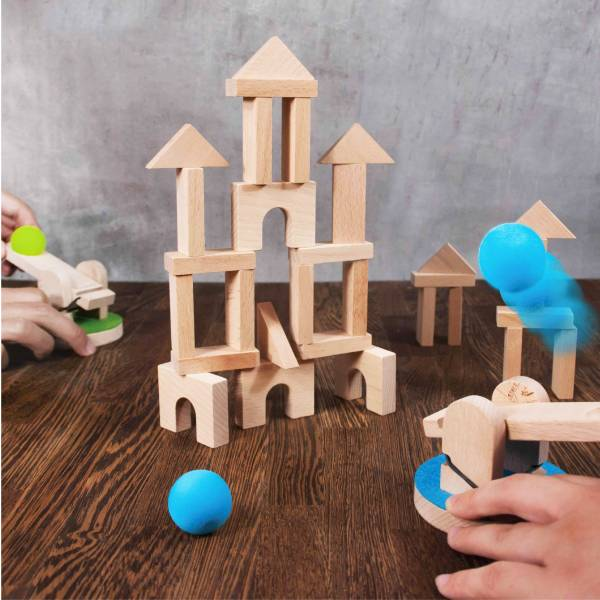 Catapult game Catapult game, wood, wood toy,