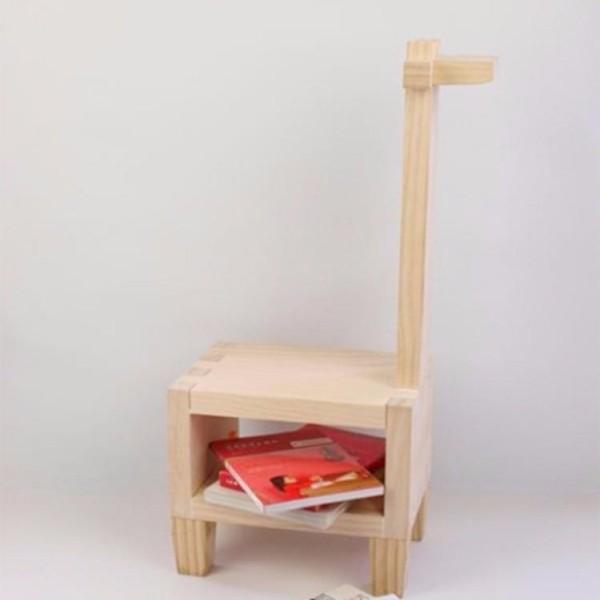 木匠兄妹設計款家具-長頸鹿椅子