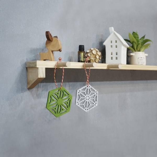 Kumiko Diffuser wood, walnut, woodwork, diffuser, wool felt