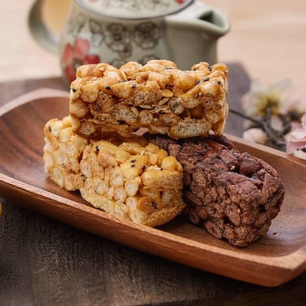 健康輕食烤沙琪瑪(12入)★ 非油炸品 熱量低 下午茶點心
