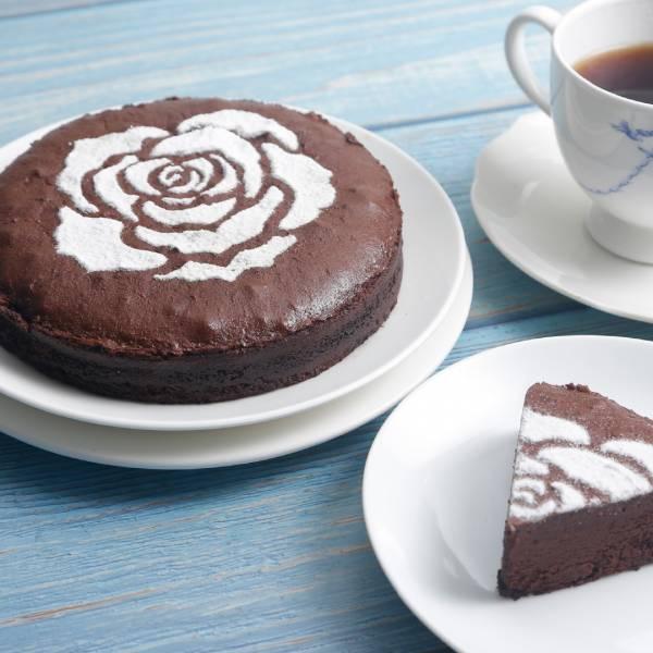 古典巧克力6吋★情人玫瑰