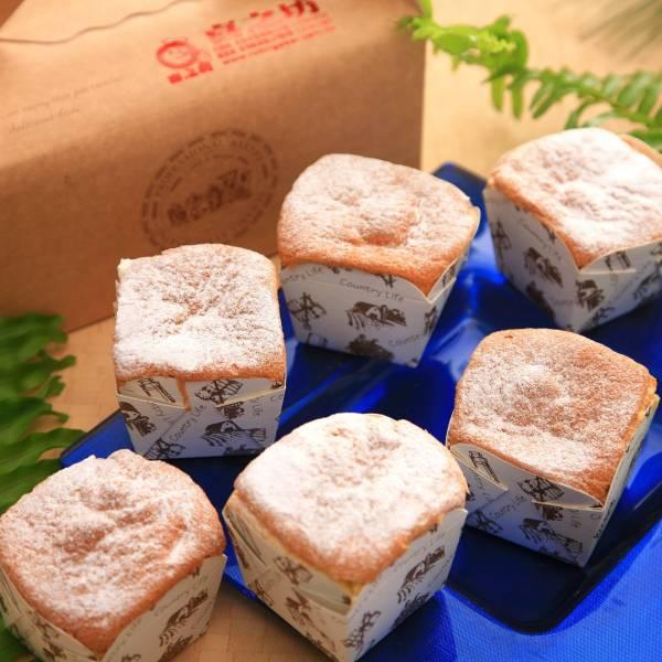 雪藏依芙(6入)★冰凍吃更好吃(卡士達戚風蛋糕)