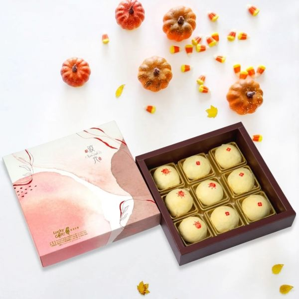中秋預購優惠!!9入台灣小月餅★中秋月餅禮盒