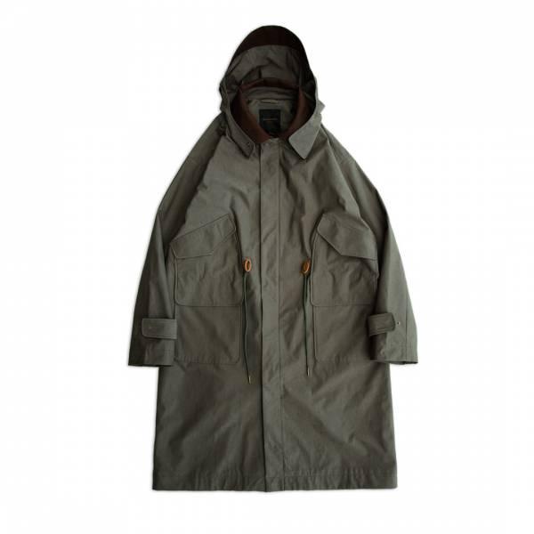 Hooded Military Coat  Waterrepellent ,Wind-proof,Stain,repellent, Hooded,Military,Coat