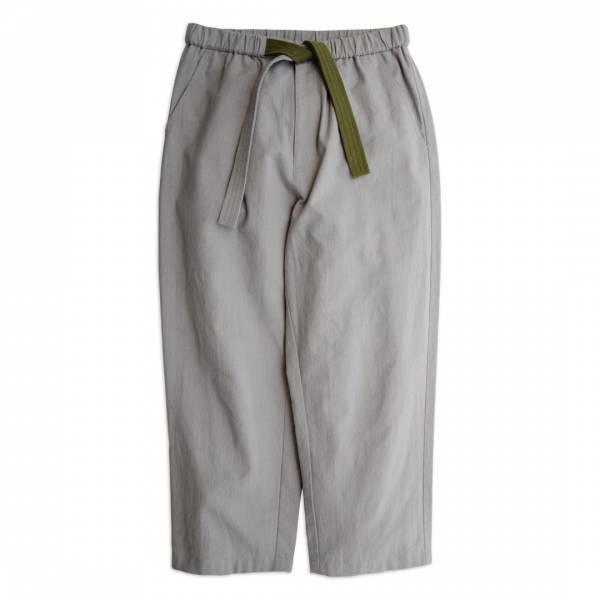 和風水洗棉麻綁帶寬褲 / Samue Pants 日本製,水洗,棉麻,綁帶,作務服,柔道褲,灰色,寬褲