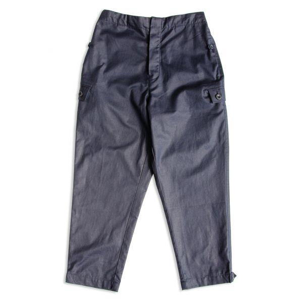 東德軍NVA繭型軍工褲 日本面料,棉麻,深藍色,東德,NVA,軍工褲,工裝褲,九分褲