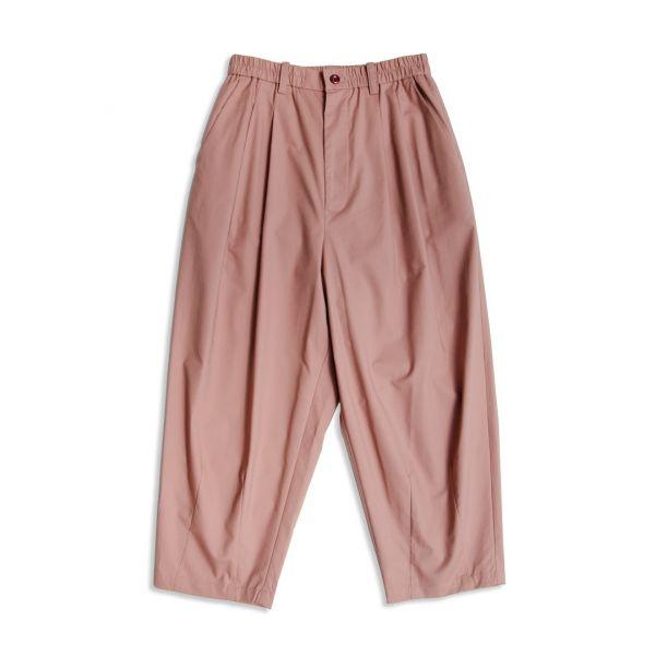 圓筒九分寬褲 pima棉,圓筒,寬褲,灰粉色,灰綠色
