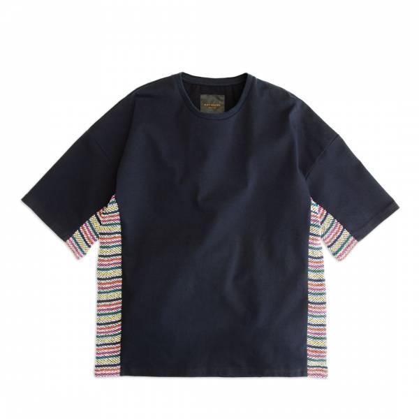 義大利編織透氣T恤 / Italian Woven Mesh Cut-And-Sew Tee 米蘭棉,米蘭織,厚磅,硬磅,義大利,編織,透氣,剪接,T恤