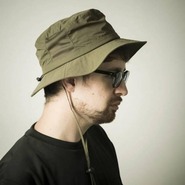 TREK HAT 叢林帽,登山帽,防潑水,黑色,軍綠色,可調節
