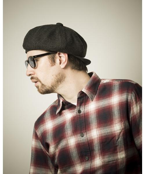 HEADGEFOG gimixed,羊毛,黑色,灰色,駝色,貝雷帽,報童帽,日本製