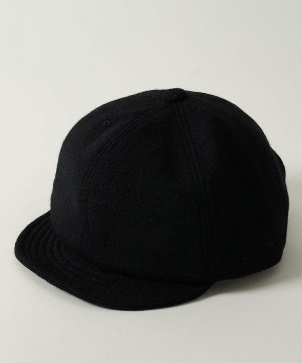 Bridge Cap Jersy BRIDGECAP,JERSEY,短帽沿,棒球帽,gimixed,黑色,卡其色,暗紅色,帽子,羊毛,