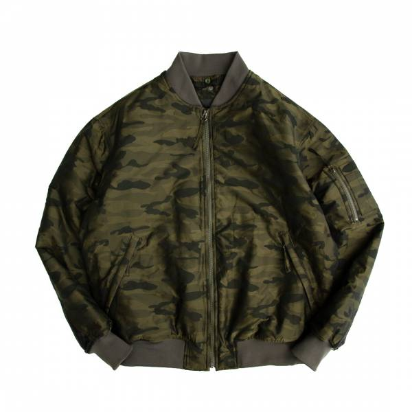 MA-1 memory camouflage flight jacket Three-dimensional texture, restrained and low-key elegant luster, soft but not loose, water repellent, anti-wrinkle, anti-fouling, maintenance, windproof, anti-static, anti-ultraviolet, MA-1, memory ,
