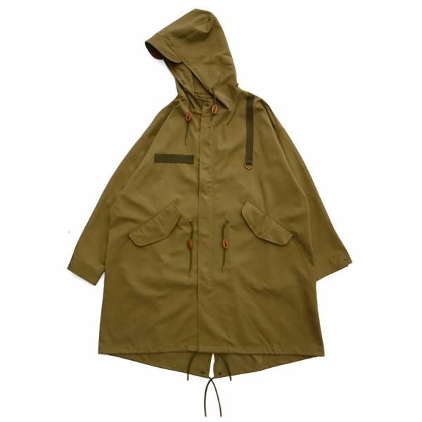 軍風連帽長版外套 M51,M65,militaly,waldes,軍綠色,連帽外套,長版
