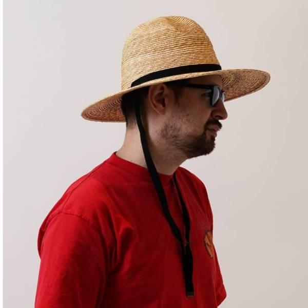 麥草編織農夫帽 STREW MOUNTAIN HAT 麥草,植物纖維,農夫帽,遮陽