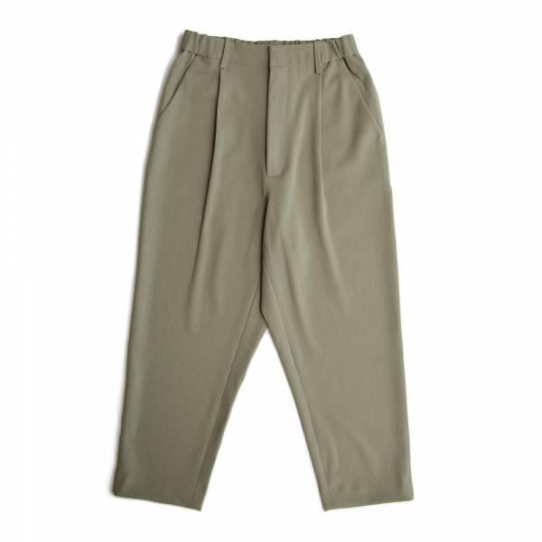 單摺垂墜九分褲 淺軍綠色,垂墜,九分褲,單摺西裝褲