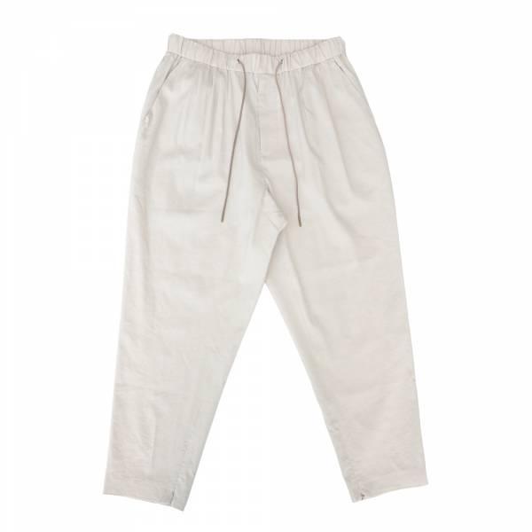 九分鬆緊帶燈籠褲 灰白色,可可色,鬆緊帶,抽繩,九分褲,燈籠褲,長褲,上寬下窄