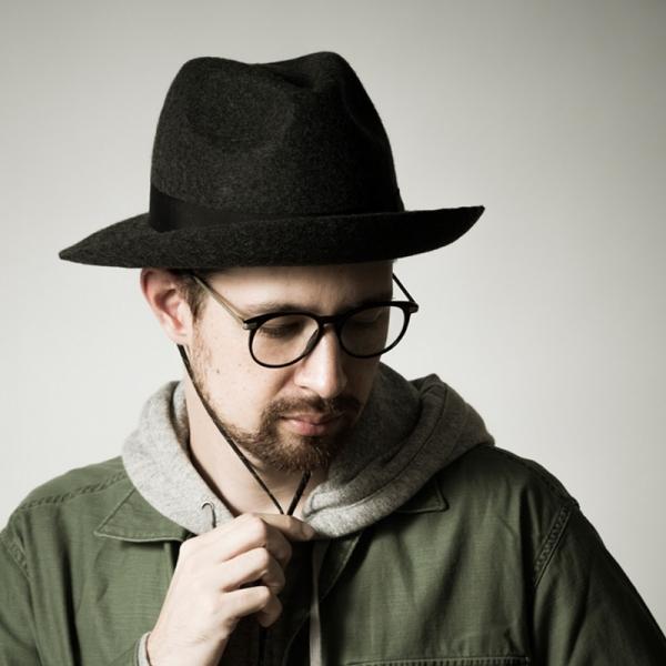 cycling hat GIMIXED,日本製,防風,紳士帽,黑色