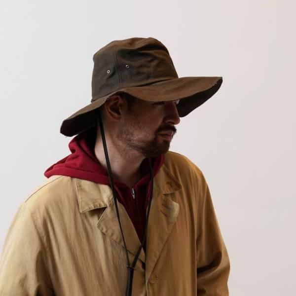 寬沿帆布遮陽帽 RAD CANVAS HAT 帆布,寬帽沿,遮陽帽,卡其色,軍綠色