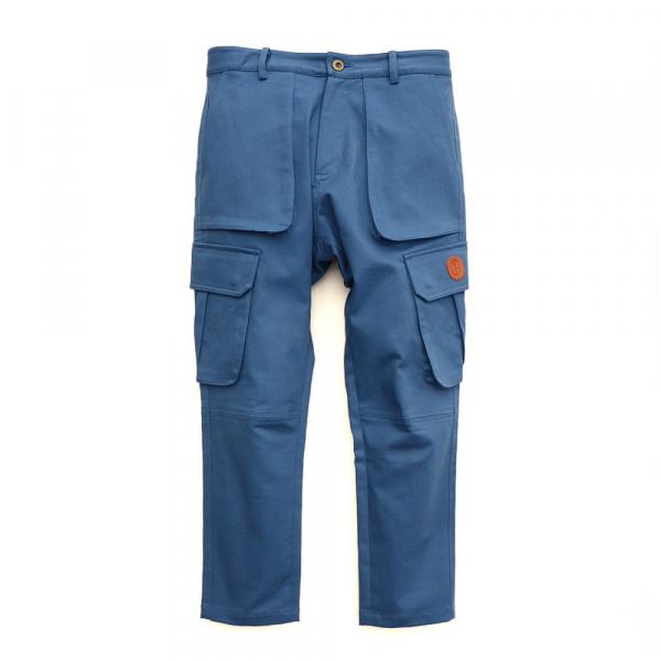 多口袋斜紋軍工褲 斜紋布,日本面料,多口袋,軍工褲,工裝褲