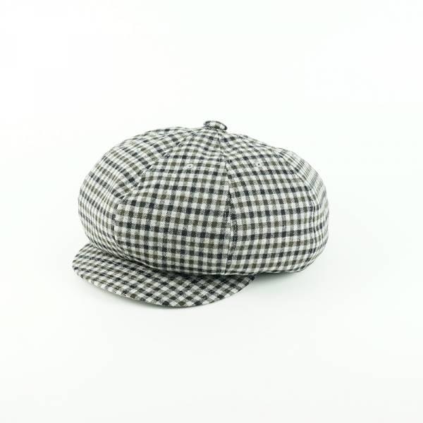 NIKKY 日本製,gimixed,格紋,報童帽,貝童帽,帽子