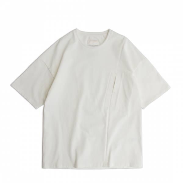 米蘭棉口袋T恤/Milano Cotton Pocket Tee 厚磅,硬磅,米蘭棉,米蘭織,硬挺,親膚,彈性,白色,黑色
