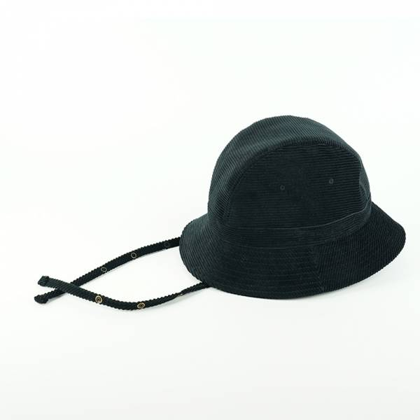 CORDUROY JETHAT gimixed,日本製,可調整式,三片式,圓盤帽,黑色,灰色,jethat