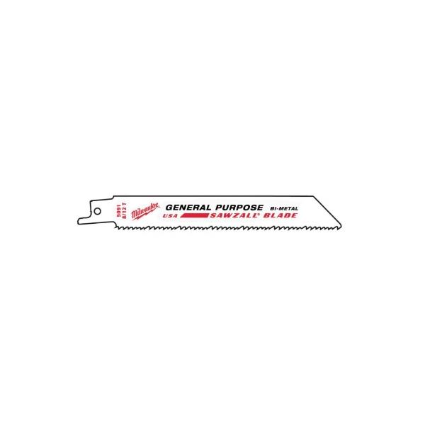 THE WRECKER™ 標準複合式材料鋸片 美沃奇軍刀鋸,赫杰國際貿易有限公司,經銷,原廠公司貨,軍刀鋸片,複合式切割,含鐵釘的木板,水管,金屬