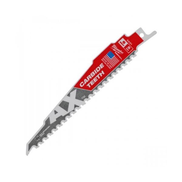 THE AX™ 含碳化鎢鋸齒的鋸片 美沃奇軍刀鋸,赫杰國際貿易有限公司,經銷,原廠公司貨,軍刀鋸片,木工,消耗品