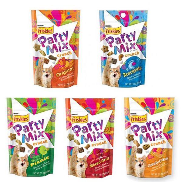 【Friskies喜躍】Party mix貓咪香酥餅 臭貓,動物園,喜躍,Party mix,貓咪,香酥,餅