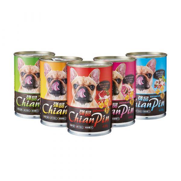 【強品China Pin】400g大容量狗罐 臭貓動物園-【強品China Pin】400g大容量狗罐