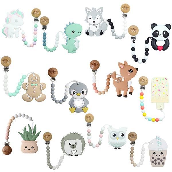 加拿大Glitter&Spice固齒器 固齒器,矽膠固齒器,奶嘴鍊,Glitter&Spice,奶嘴夾,